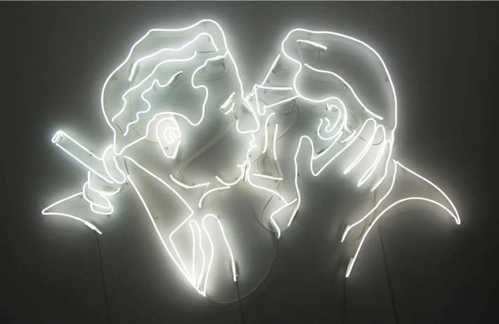 NEON kiss
